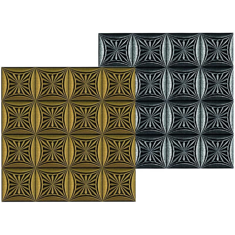10 qm Deckenplatten Styroporplatten Decke Platten Dekor Stuck 50x50cm Nr.83