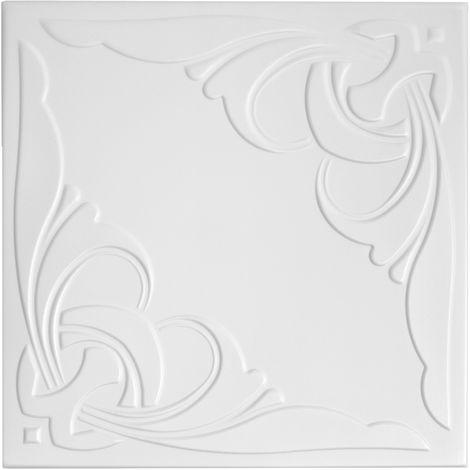Deckenplatten | XPS | formfest | Hexim | 50x50cm | Nr.95