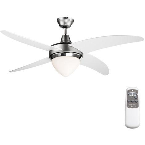 Deckenventilator mit Fernbedienung und LED