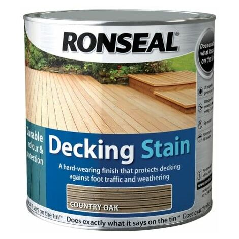 Decking Stain Country Oak 2,5 Litre (RSLDSCO25L)