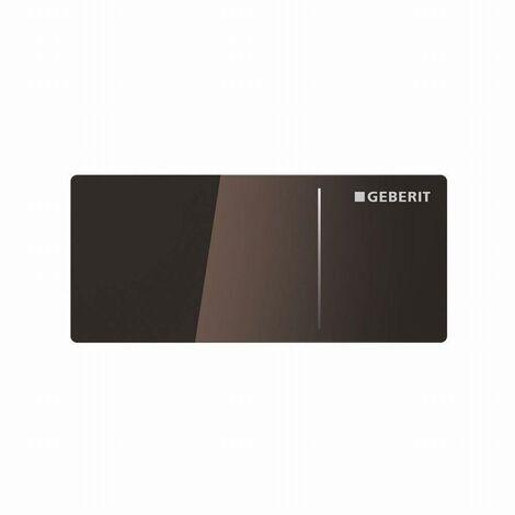 Déclenchement à distance GEBERIT Type 70 pour rinçage double touche pour réservoir Omega chocolat - 115084.SQ.1