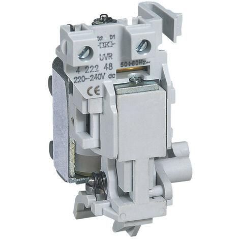 Déclencheur à minimum de tension pour DPX I1600, DPX1600, DPX630 ou DPX I630 à tension de bobine 230V~ et 230V (422248)