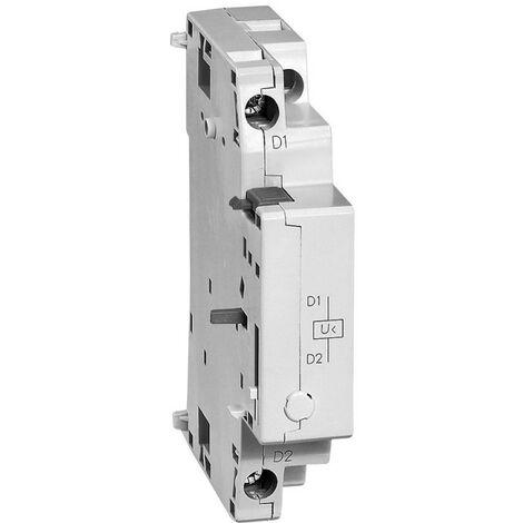 Déclencheur à minimum de tension sans contact auxiliaire pour disjoncteur moteur MPX 110V 50Hz et 120V 60Hz (417421)