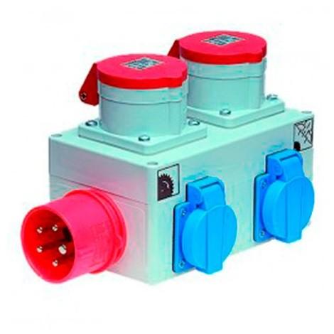 Déclencheur automatique combiné triphasé/monophasé - EL0010 - Holzprofi