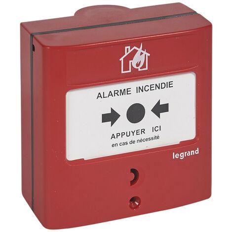 Déclencheur Manuel DM conventionnel standard pour équipement d'alarme incendie (138012)