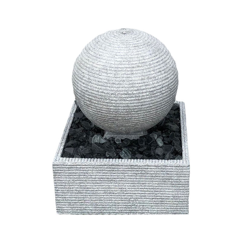 Image of Zen Rippling Sphere 30cm