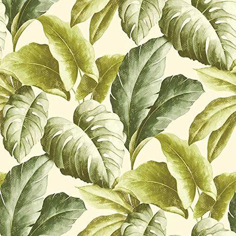 Deco4Walls Botanical Wallpaper Green