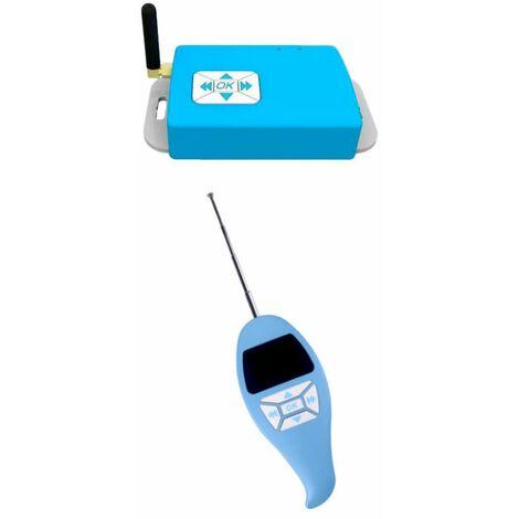 Décodeur et télécommande des lumières de piscine SINED R-RF433C_R-RF433R