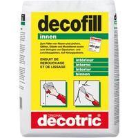 Decofill Spachtelmasse 10kg Sack, innen decotric 4007955030058 Inhalt: 1