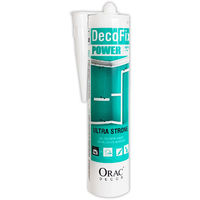 DecoFix POWER Installation adhesive 290 ml extra strong glue Orac Decor FDP700 exterior applications damp enviroments