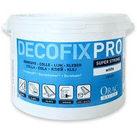 DecoFix Pro Orac Decor FDP600 Adhesivo acrílico Balde de 4,2 l / 6,4 kg Adhesivo de instalación para molduras y paneles