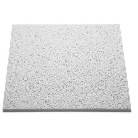 Decoflair Bianco T107 dalle pafond 500x500x10mm, pack 2m²