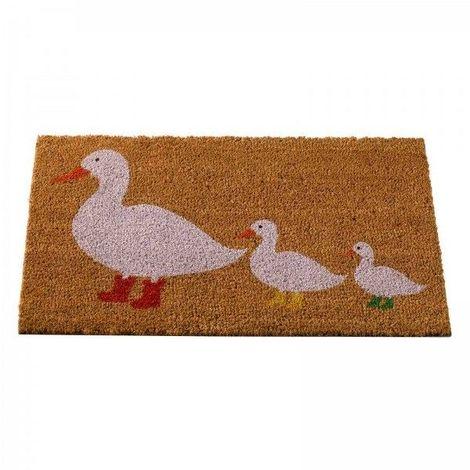Decoir Doormat Ducks In Boots 75x45
