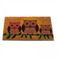 Decoir Doormat Owls 75x45