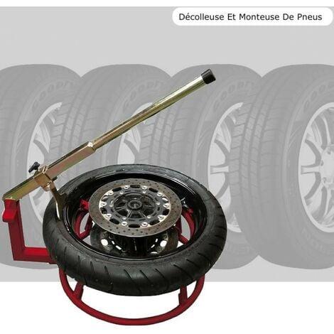 Décolleuse et Monteuse de pneus moto et motocross