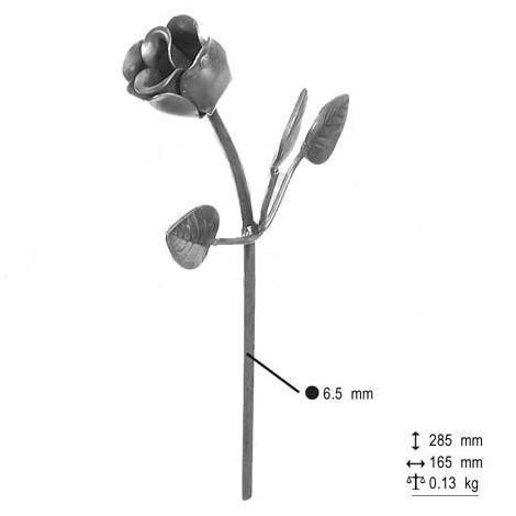 Décor rose 285x165