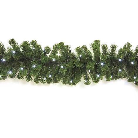 Decoración de la navidad Giocoplast KOSMOS 80 LEDS blancos 2,74 metros) 32010514