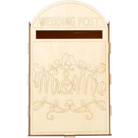 Decoracion de madera caja para la materia de Sr. y senora letras con un Cle