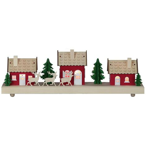 Decoración de Navidad HEDEMORA con pilas