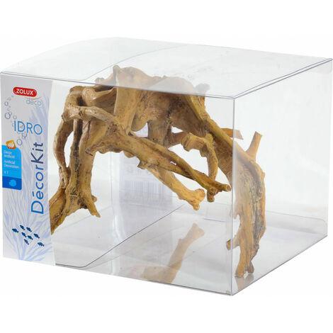 """main image of """"Decoración. kit Idro raíz n° 2. dimensión 19.5 x 18 x Altura 15 cm. para el acuario."""""""