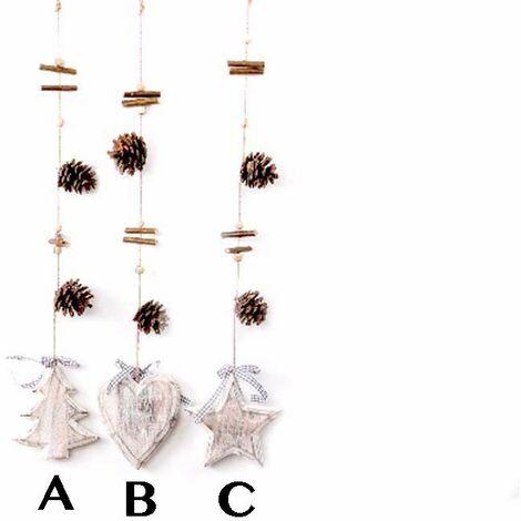 Decoración navideña para colgar (10x64) B