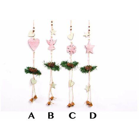 Decoración navideña para colgar (7x45) D