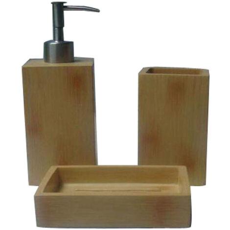 Decoración para baño lote de 3 piezas