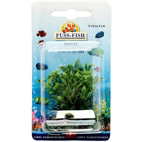 Decoración plástica de plantas acuáticas para acuarios