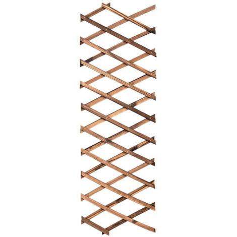 Decoración retractable de la flor del enrejado del marco de la planta que sube de la cerca de madera durable