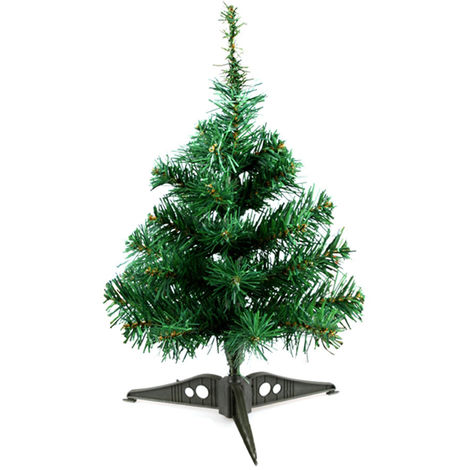 Decoraciones para el hogar del arbol de navidad, 45cm, verde