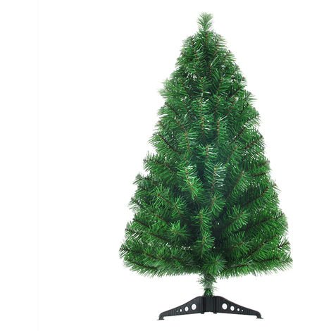 Decoraciones para el hogar del arbol de navidad, 60cm, verde