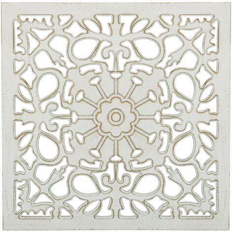 Décoration murale blanche VENADO