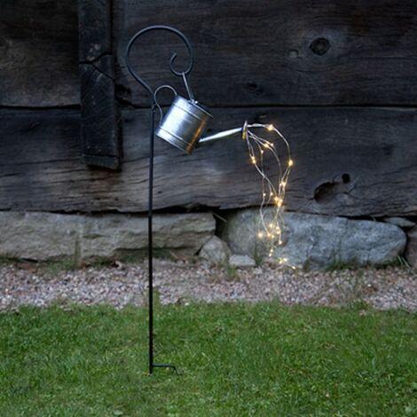 """main image of """"Décoration solaire piquet arrosoir 28 LED Blanc Chaud"""""""
