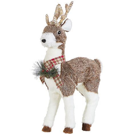 Decorative Figurine Reindeer Brown IMPIO
