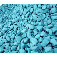 Decorative Garden Stones Coloured Gravel Rockin Colour Aqua Sea 20kg