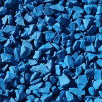 Decorative Garden Stones Coloured Gravel Rockin Colour Azure Blue 20kg