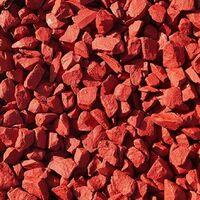 Decorative Garden Stones Coloured Gravel Rockin Colour Chilli Red 20kg