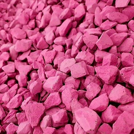 Decorative Garden Stones Coloured Gravel Rockin Colour Hot Pink 20kg