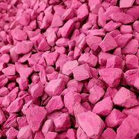 Decorative Garden Stones Coloured Gravel Rockin Colour Hot Pink 20kg