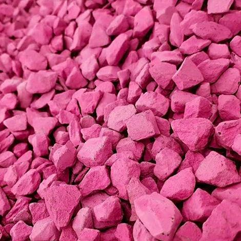 Decorative Garden Stones Coloured Gravel Rockin Colour Hot Pink 850kg