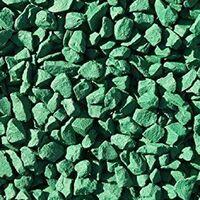 Decorative Garden Stones Coloured Gravel Rockin Colour Irish Emerald Green 20kg
