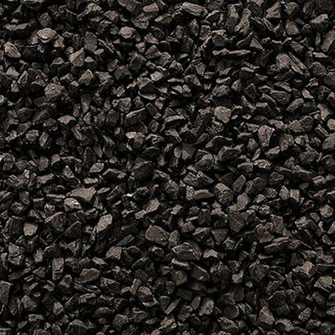 Decorative Garden Stones Coloured Gravel Rockin Colour Midnight Black 20kg