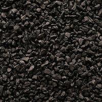Decorative Garden Stones Coloured Gravel Rockin Colour Midnight Black 850kg