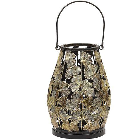 Decorative Lantern Metal Gold SOMERSET