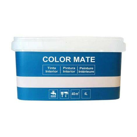 Decorative matt color paint - Blue - 4L