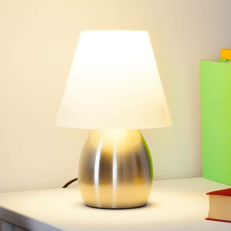 Decorative table lamp Emilan with E14 LED light