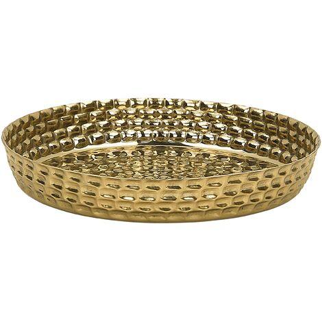 Decorative Tray Gold SUEZ