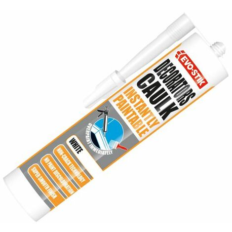 Decorator's Caulk Instantly Paintable (EVOIPDC)