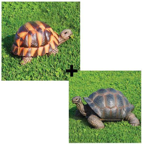 Decorazioni da giardino e laghetto animali tartaruga media e testuggine gigante