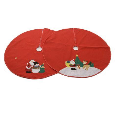 DECORIS *ult. unidades* base decorativa redonda para arbol navidad 100cm diametro